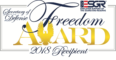 SECRETARY OF DEFENSE FREEDOM AWARD 2018